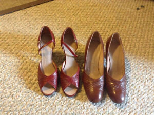 Ladies vintage shoes-Eatons exclusives-great shape!