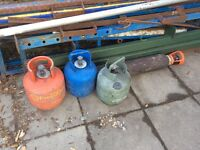Gas bottles calor barbecue heating cooking camping caravan boat gas ring