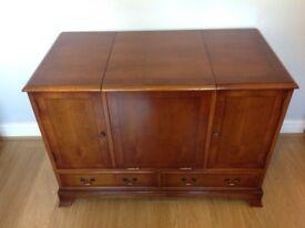 Bradley Yew Cabinet