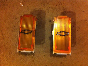 Nova Set of Front Grill Signals fit years 75-79 (2 sets)