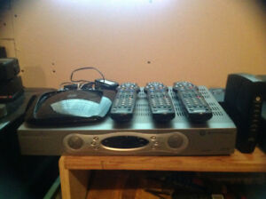 Shaw Cable Boxes and Wireless Router
