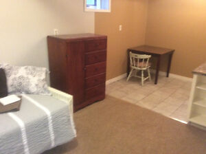 Separate Entrance Furnished One Bedroom Suite Avail. May 1st