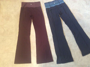 2 pairs of LULULEMON Pants