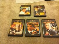 James Bond DVD's