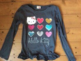 Girls Hello Kitty Top & Leggings for 8 years
