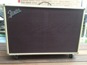 Cabinet Fender Super-Sonic 60 212 cab, blond, comme neuf