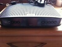 Virgin Cisco V Box HD with remote and cables