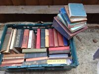 Job lot of old/vintage books.