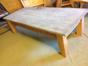 Reclaimed Wood Coffee Table made from an old Door