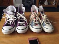 Converse All Star Boots £10.00 each