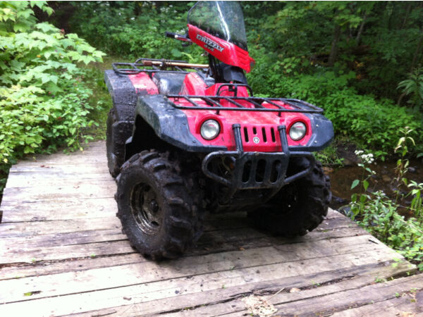 Used 2000 Yamaha Grizzly