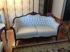 Moving out sale - Beautiful White Sofa Set and Table, $1200 OBO