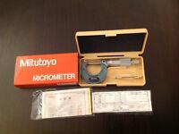 Brand new mitutoyo micrometer