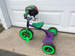 T-Rex Tricycle with Matching Helmet for Sale