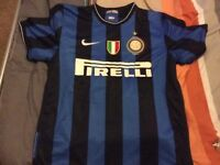 Inter Milan football shirt RARE retro