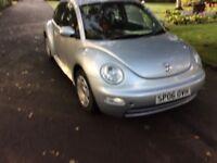VW BEETLE 1.6 2006 £1550