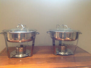 Stainless steel Chafing dishes Kitchener / Waterloo Kitchener Area image 1