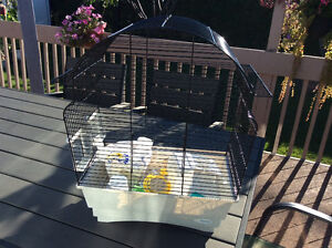 Bird cage for canaries or small birds
