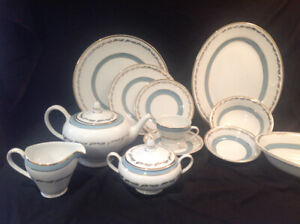 Dinner set for six  plus many extra made in English