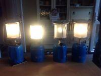 Camping gaz lanterns x 4