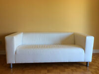 Divan/Causeuse blanc / White Couch/Loveseat