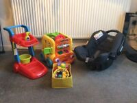 Baby Car Seat Graco And Kids Toys
