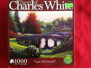Casse-tête Charles White Le Pont 1000 morceaux à 3$