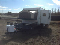 2009 SHAMROCK 232 TOY HAULER  1/2 TON TOWABLE
