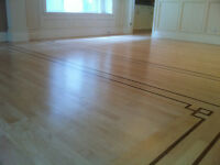 refinishing and installation hardwood floor