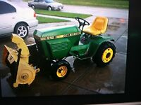 "John Deere 37"" Front Blower wanted"