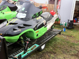 1998 Arctic cat zr Rolling chassis