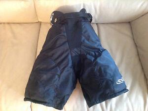 Barely used CCM ice hockey pants size M youth Edmonton Edmonton Area image 1
