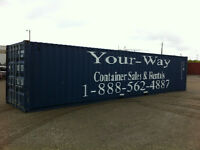 Muskoka 20' and 40' storage containers