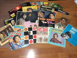 Vinyl Records, many different artists.