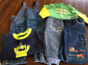 3-6 month boys fall/winter lot
