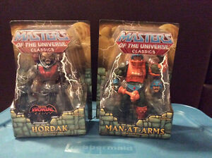 Masters of the Universe Classics various figures