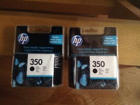 HP 350 BLACK PRINTER INK