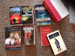 Lot of books for sale Stephen king