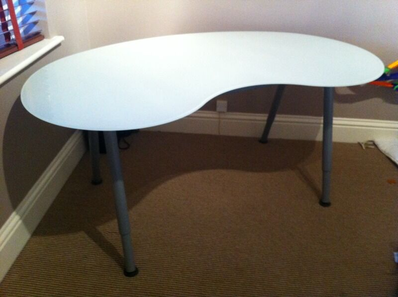 Ikea galant glass desk, Purchase, sale and exchange ads - great prices