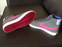 Nike grey and pink blazers