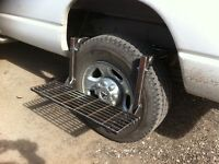 Wheel step for car truck tire