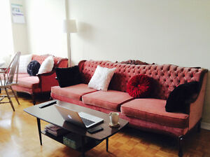 Vintage French Provincial Sofa Set