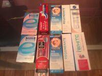 Set of Toothpaste