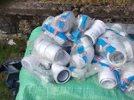 Mcalpine 54mm waste fittings