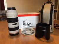 Canon ef70-200 f2.8 non is lens