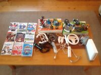Nintendo Wii with loads of games