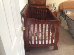 Crib with mattress for sale. Like new.
