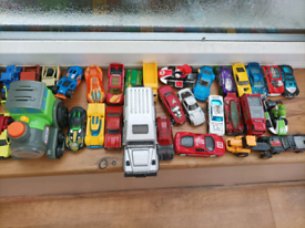 Hot Wheels/Diecast Cars Collection and Hot Wheels Transporter