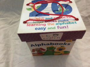 Baby Einstein Alphabooks - 26 mini books and carry case