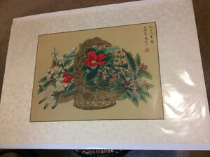 Authentic Chinese Color (Still Life) Paintings London Ontario image 2